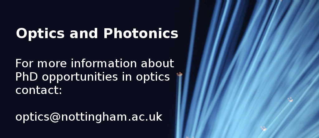 Optics and Photonics